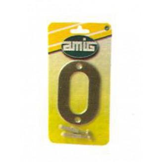 Αριθμός 10 cm Νο 6 Amig-INOX