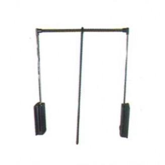 Ασανσέρ Ντουλάπας 60-83 cm Servetto-Μαύρο