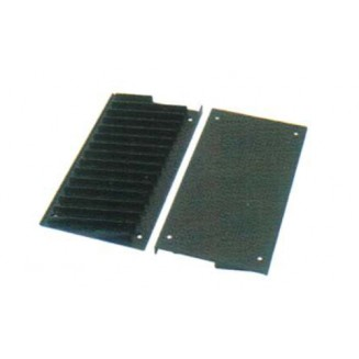 Θήκη 22,5 cm για CD Εντοιχιζόμενη σε ξύλινο έπιπλο Hafele-Μαύρο