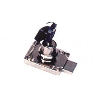 Κλειδαρ. Συρταριού Ασφαλείας Κουτιαστή με 30άρη Κύλινδρο 2 στρ. ARMSTRONG-Χρώμιο