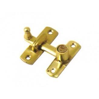 Ασφάλεια FBA Ίσια Ελατηρίου 5mm Με Αντίκρυσμα-Χρυσή