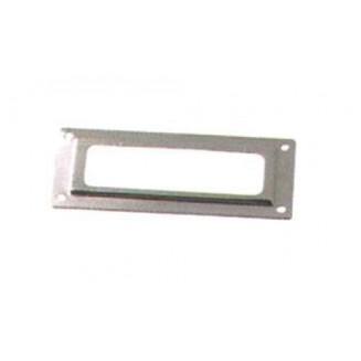Ετικετοθήκη 84-1 20 Χ 50mm. Αλουμινίου-Φυσικό