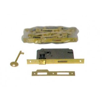 Κλειδαριά Εσωθύρας AGB 70/45 Τετράγωνη