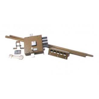 Κλειδαριά Υπερασφαλείας Κουτιαστή 3 Πύρρων Με Κοντό Κλειδί  YALE Αριστερή