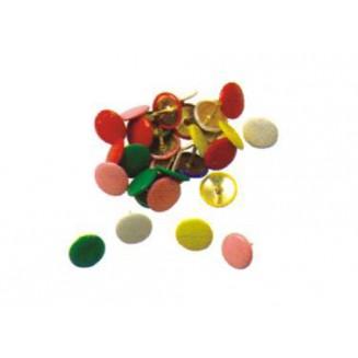 Πινέζες Με Πλαστικό Κάλυμμα-Διάφορα Χρώματα